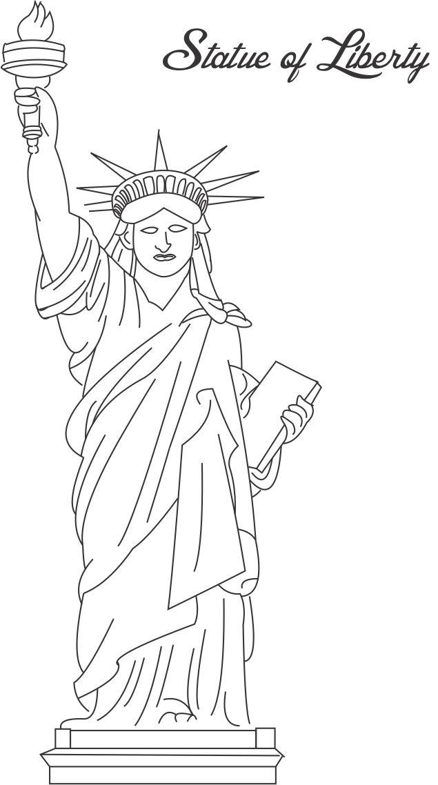 Раскраска Раскраски Соединенные Штаты Америки