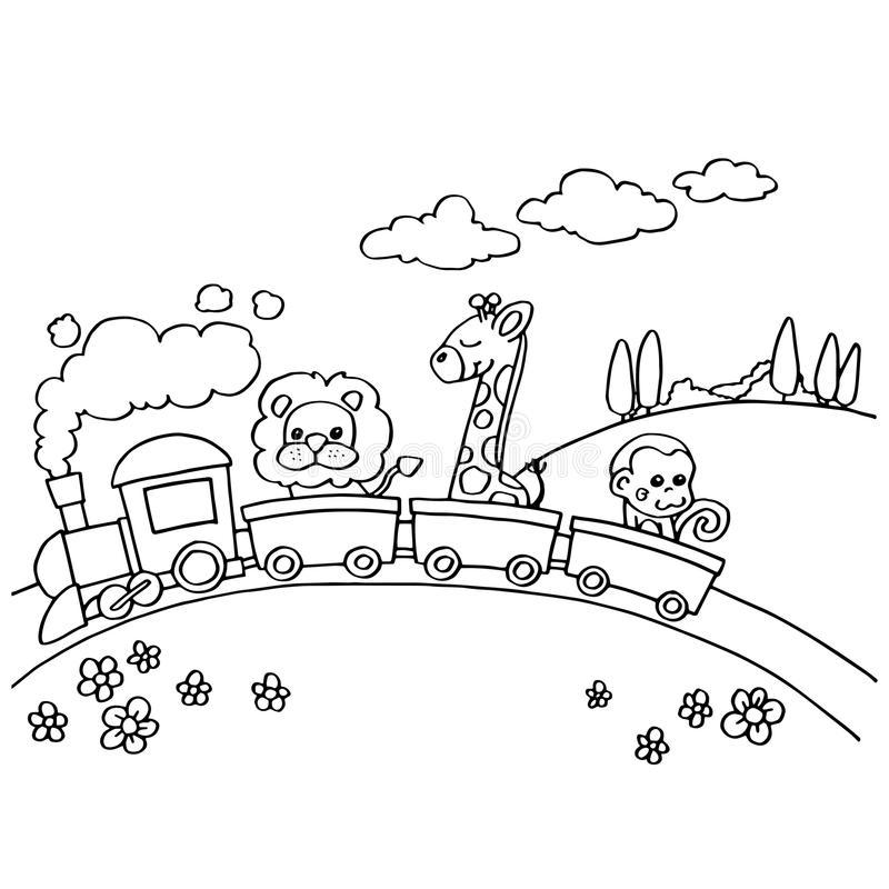 Раскраска Раскраски поезд