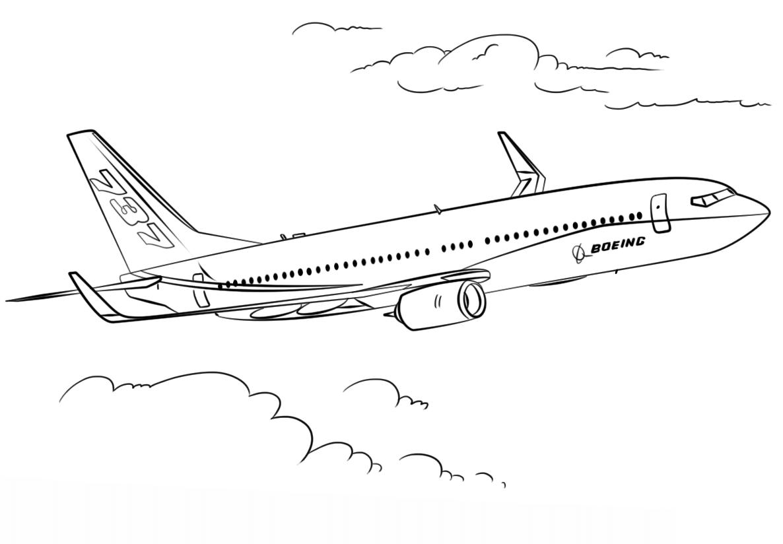 Раскраска Раскраски Самолеты