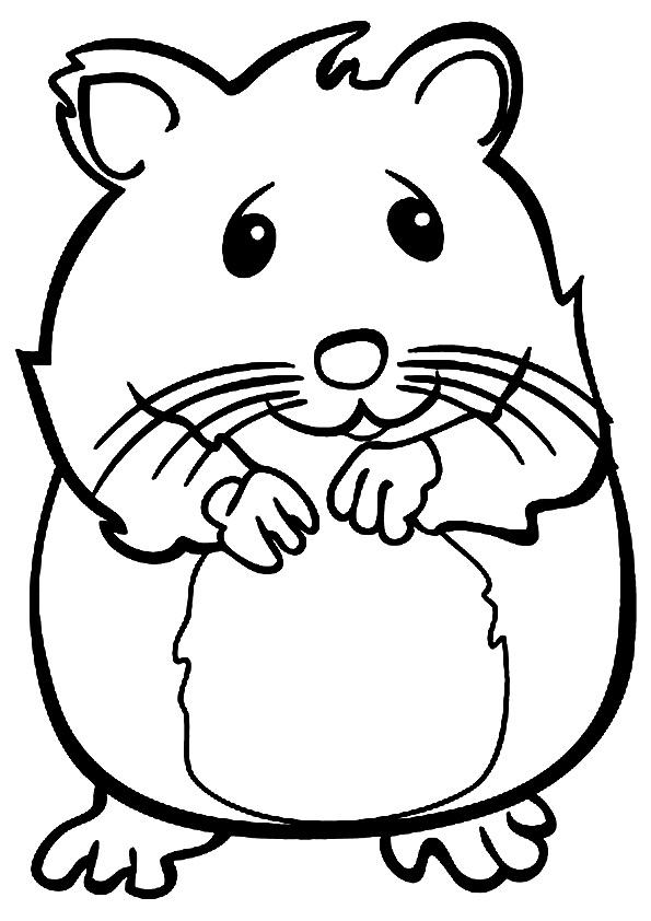 Раскраска Раскраски Мышка