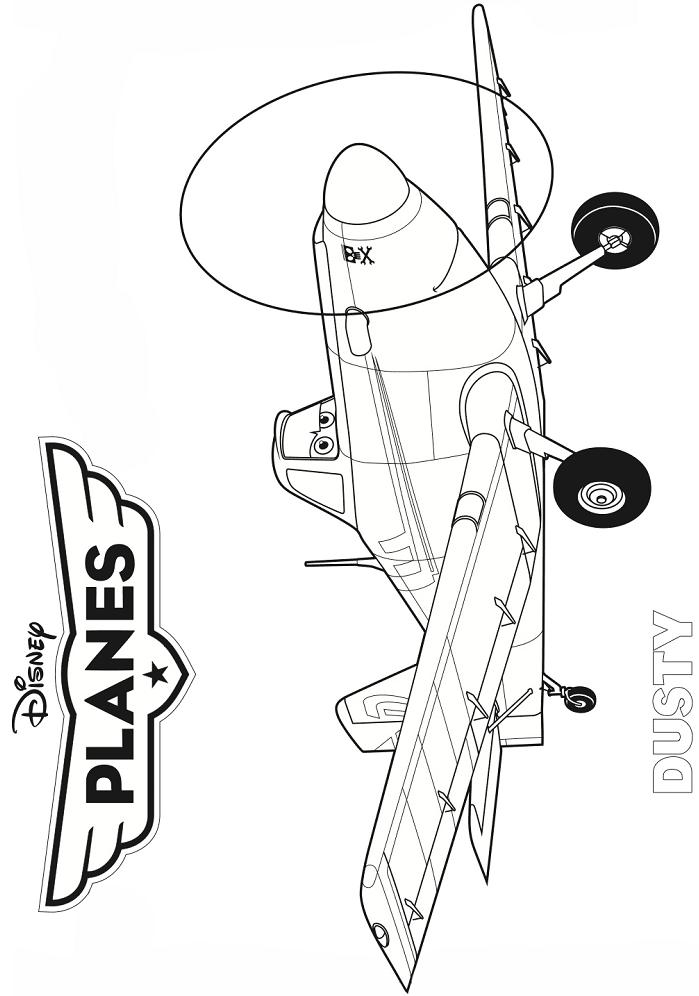 Раскраска Дасти Полейполе