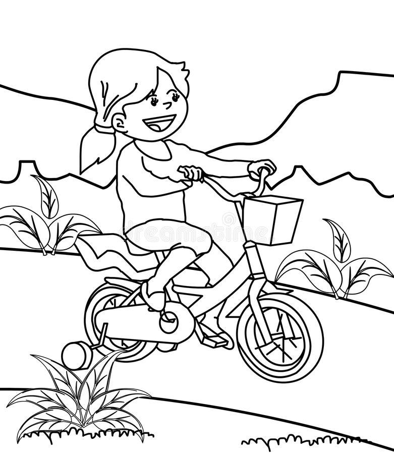 Раскраска Раскраски велосипед
