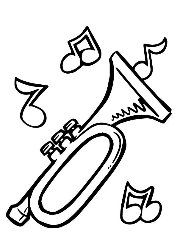 Раскраска Маленькая труба