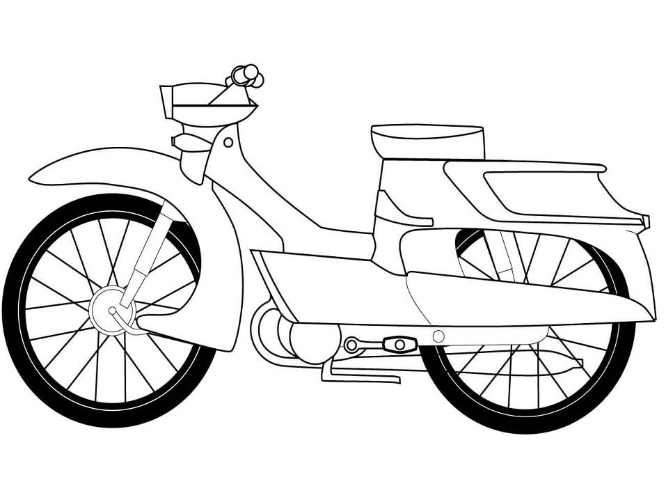 Раскраска Раскраски Мотоциклы