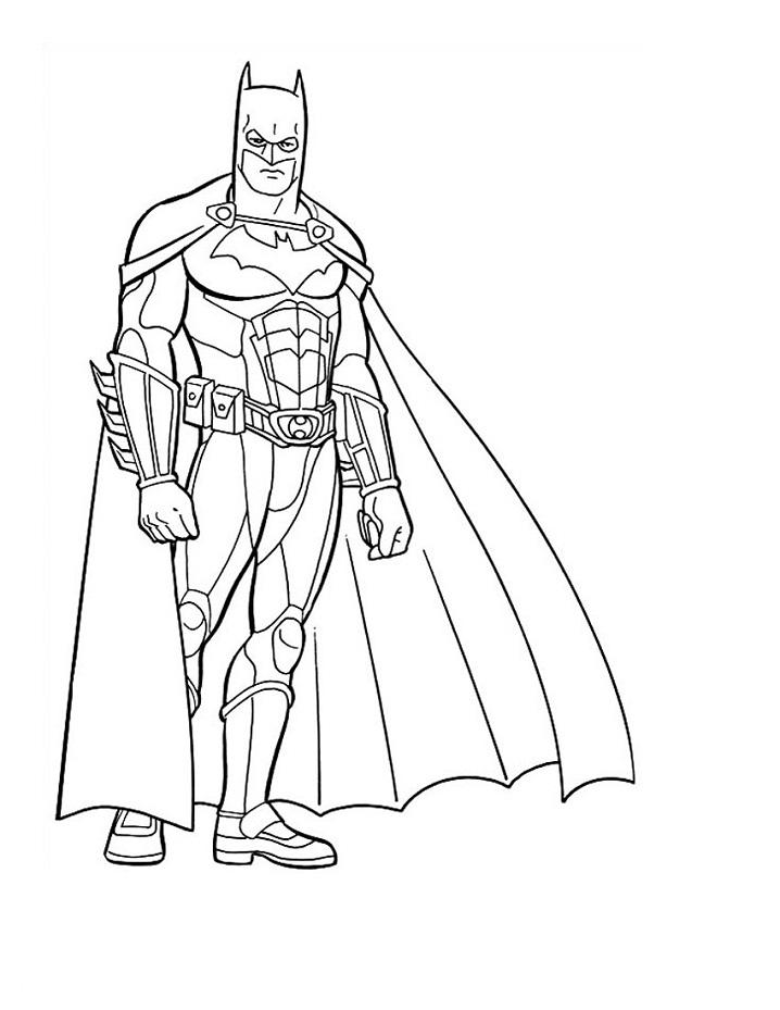 Раскраска классный бэтмен 2