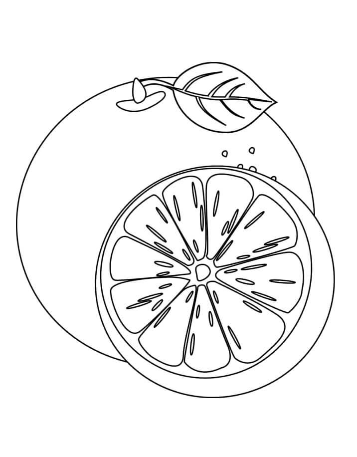 Раскраска Апельсина с Половиной 2