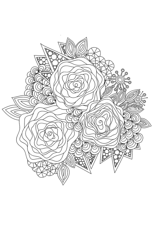 Раскраска Метод арт-терапии в раскрасках