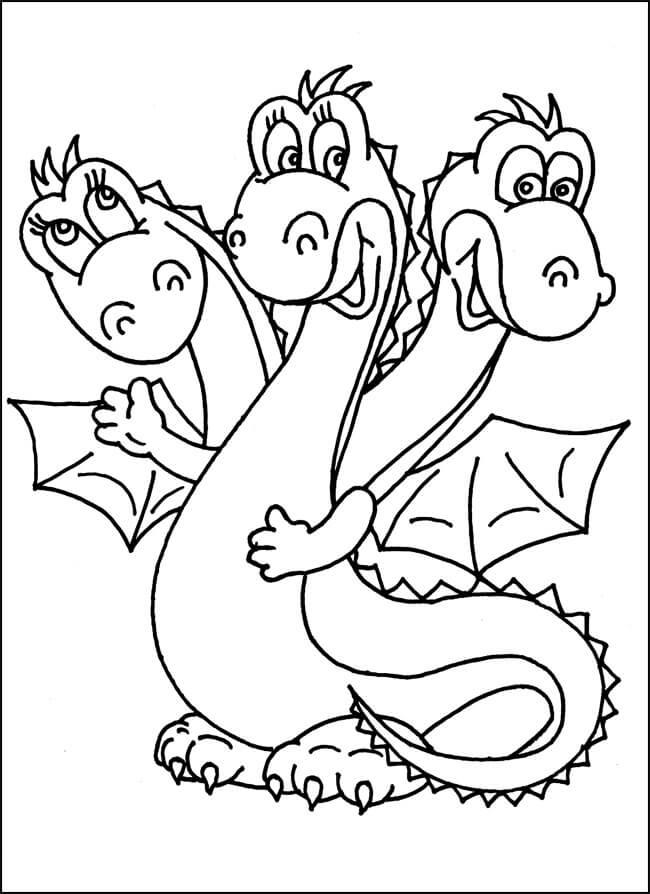 Раскраска Добрыня Никитич и Змей Горыныч 18