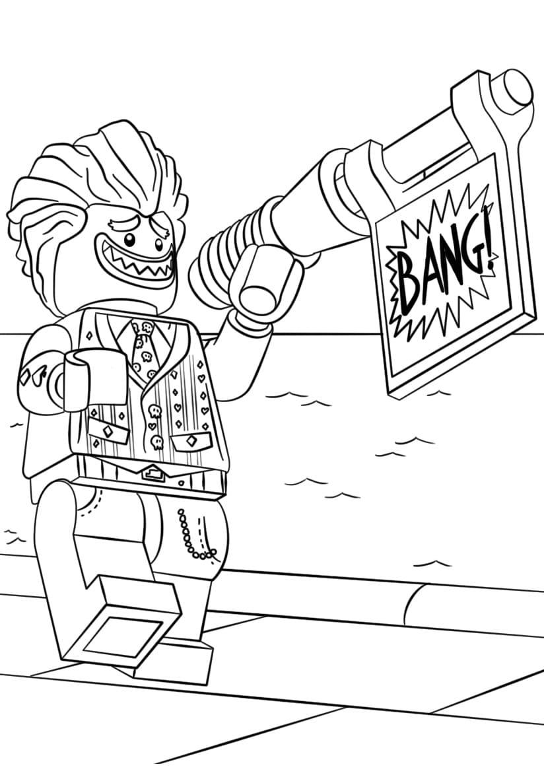 Раскраска Джокер 1
