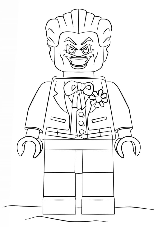Раскраска Джокер 11