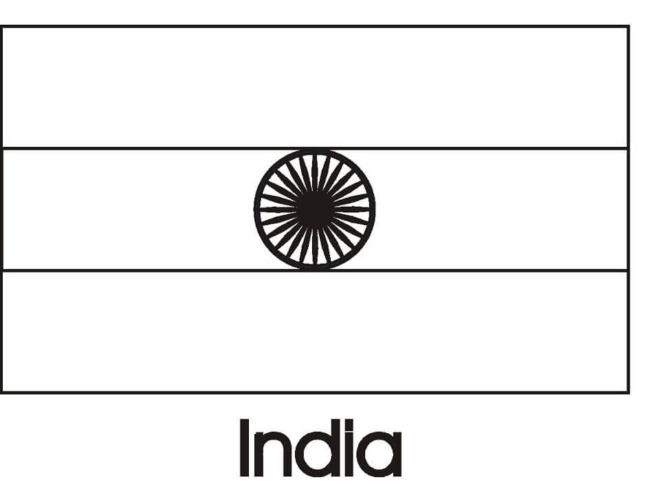 Раскраска Раскраски Индия