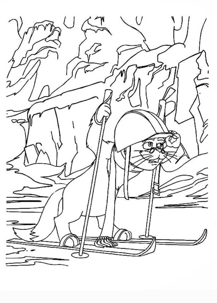 Раскраска Иван Царевич и Серый волк 15