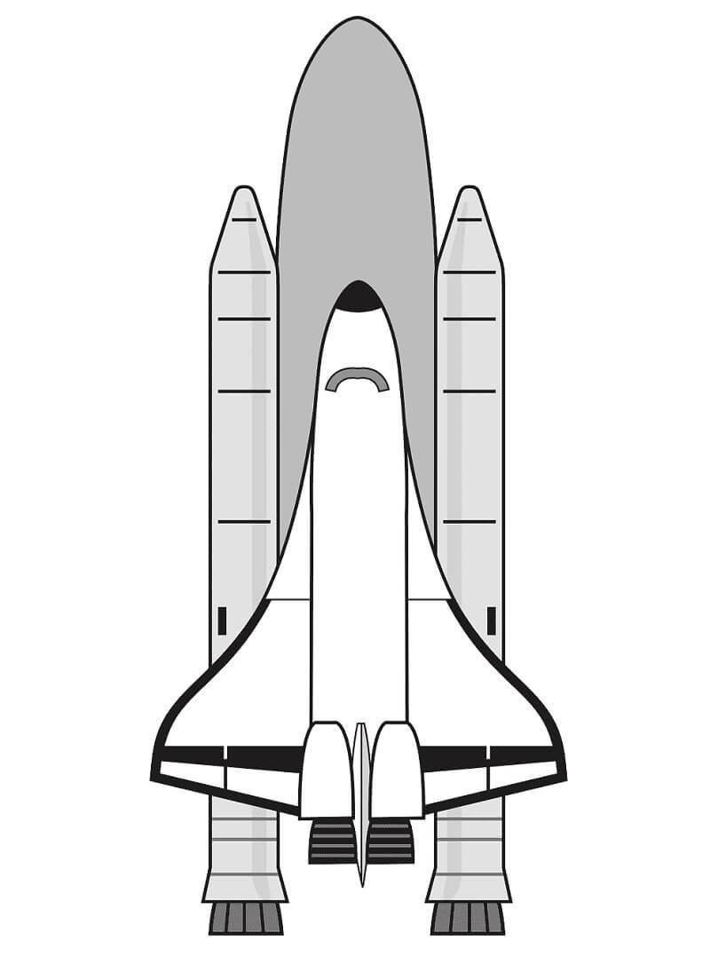 Раскраски Космический Корабль