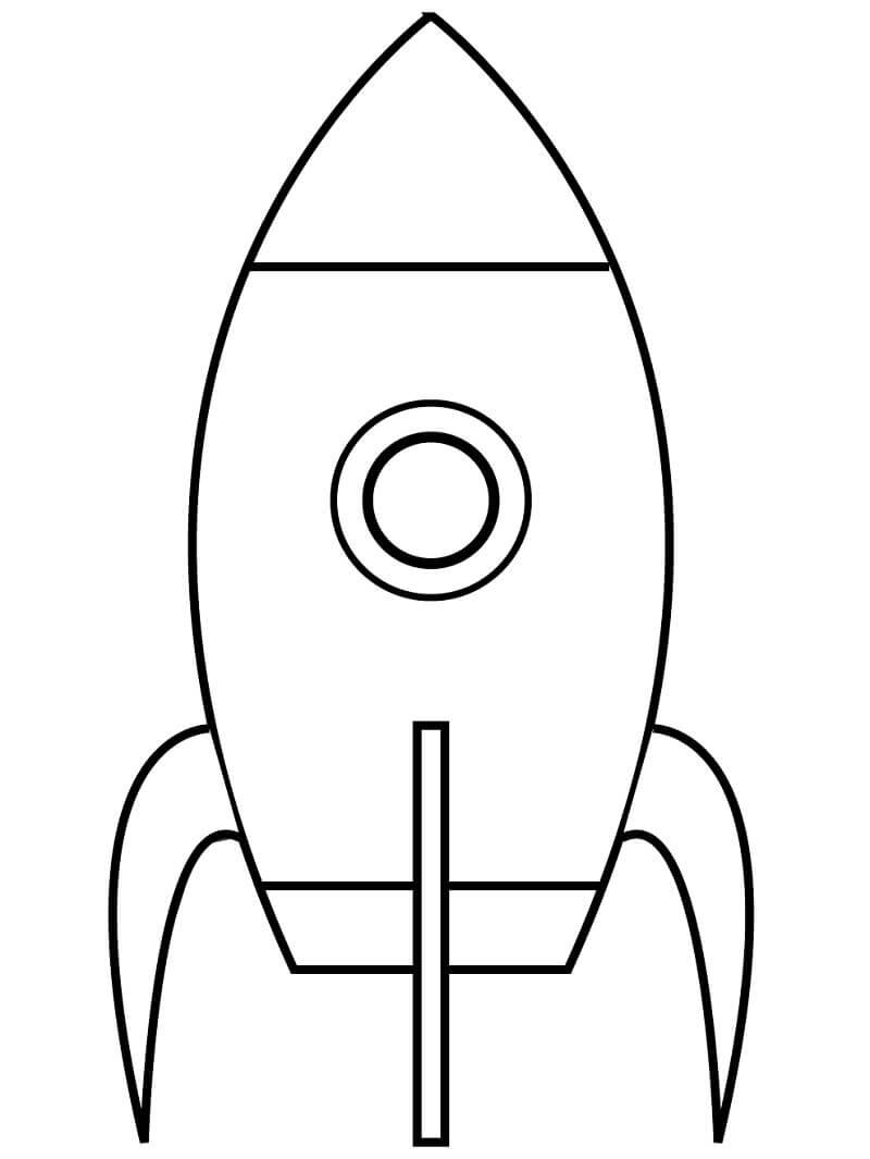 Раскраска Космический корабль 3