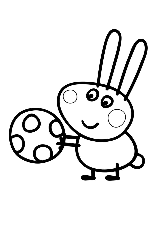 Раскраска Кролик Ричард