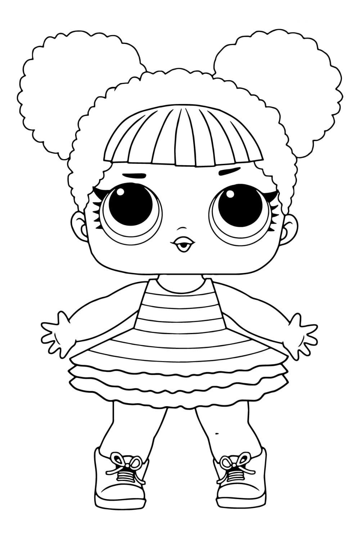 Раскраска ЛОЛ Королева Пчела
