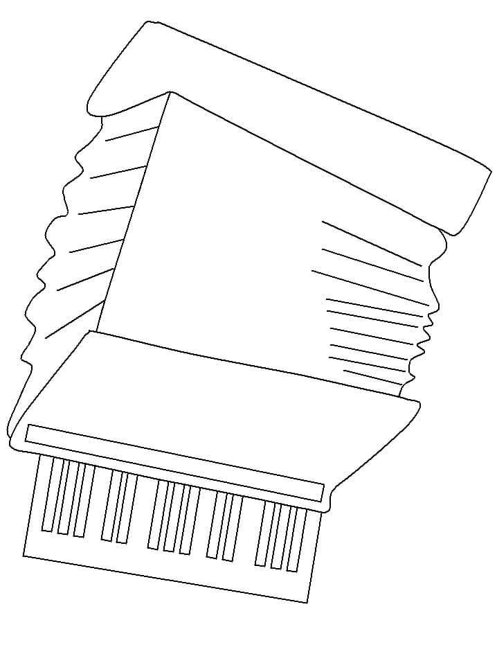 Раскраска нормальный аккордеон 5