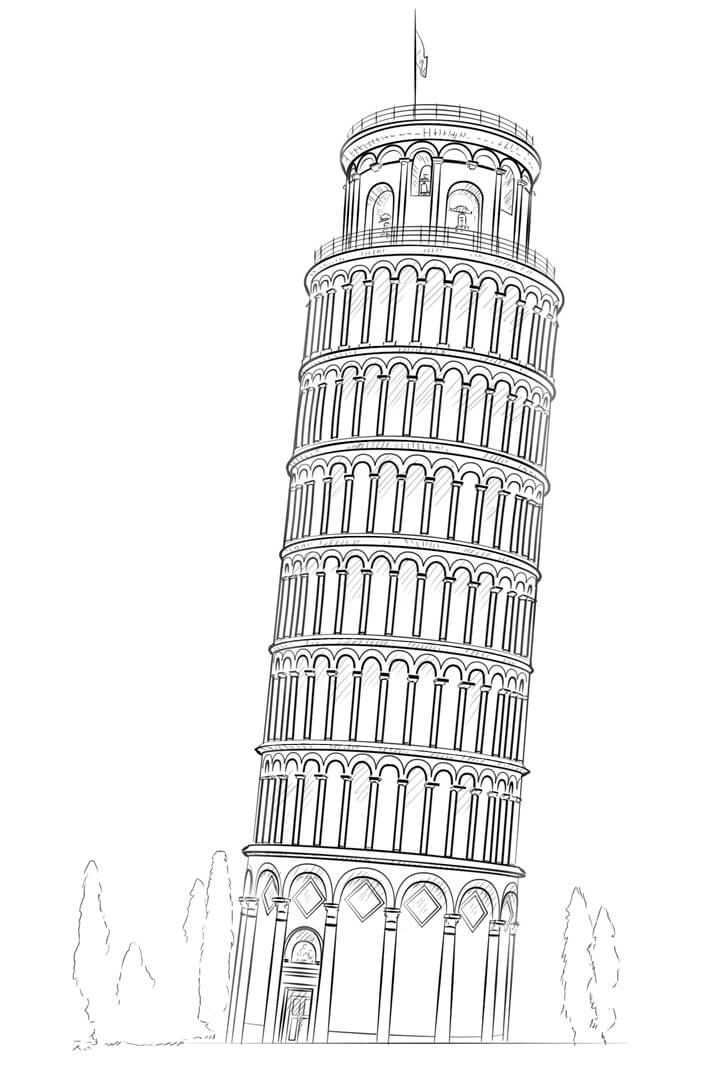 Раскраска Раскраски Италия