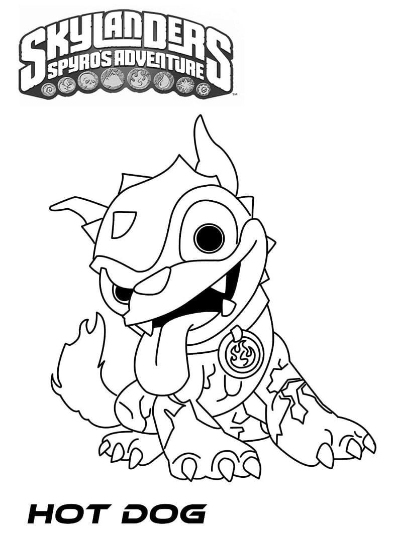 Раскраска Скайлендеры 11