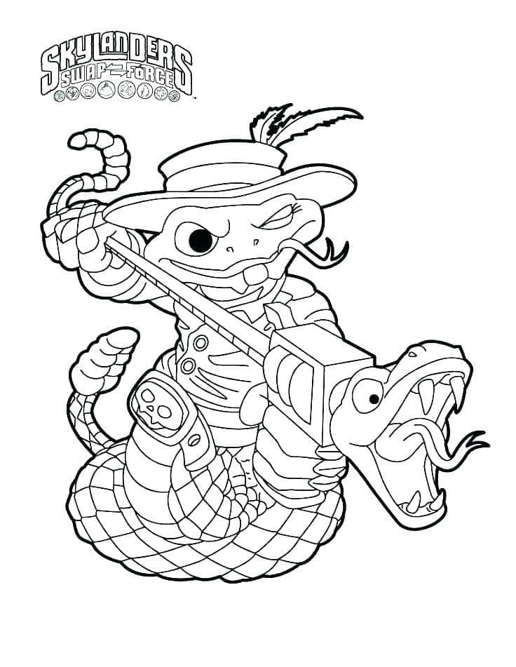 Раскраска Скайлендеры 3
