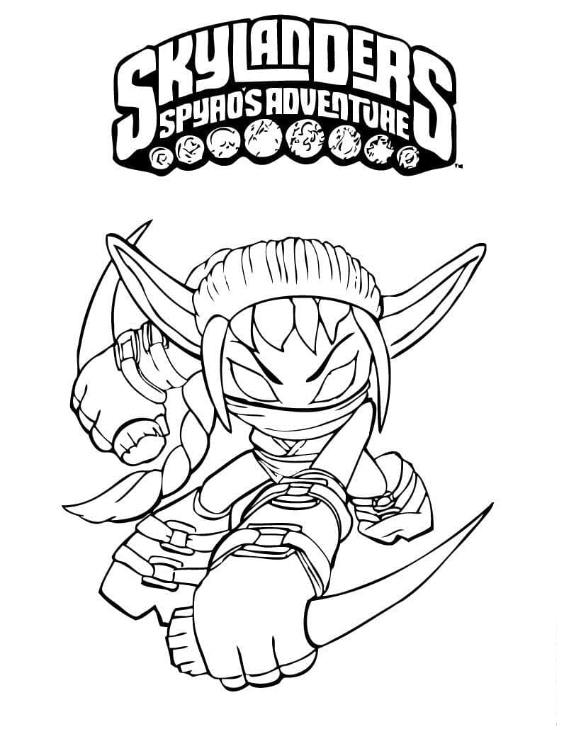 Раскраска Скайлендеры 6