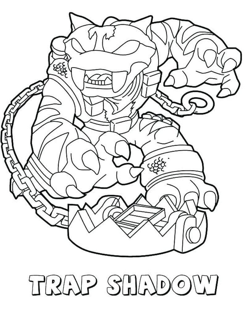 Раскраска Скайлендеры 9