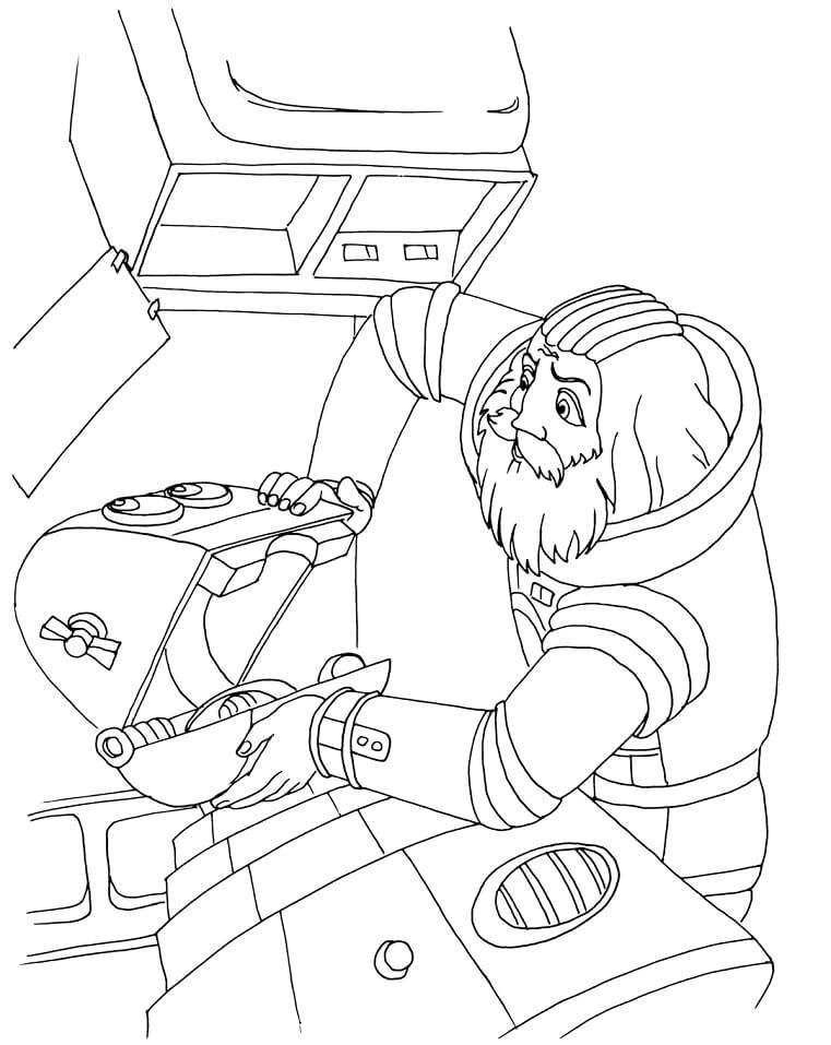 Раскраска Тайна третьей планеты 21
