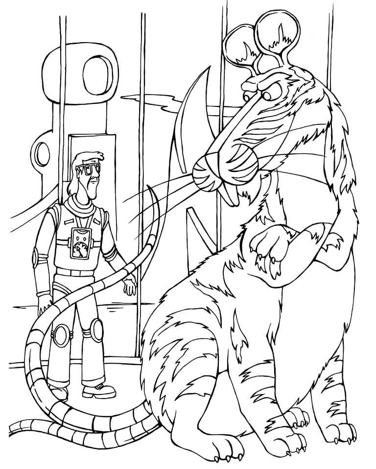 Раскраска Тайна третьей планеты 9