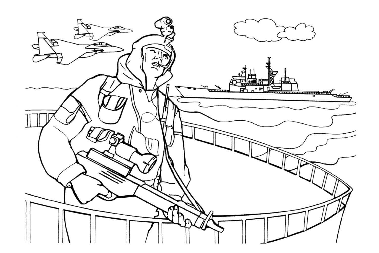 Раскраска Великая Отечественная Война