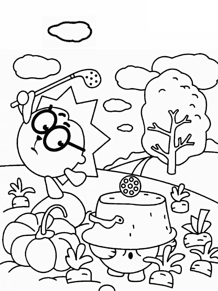 Раскраска Смеша́рики 16