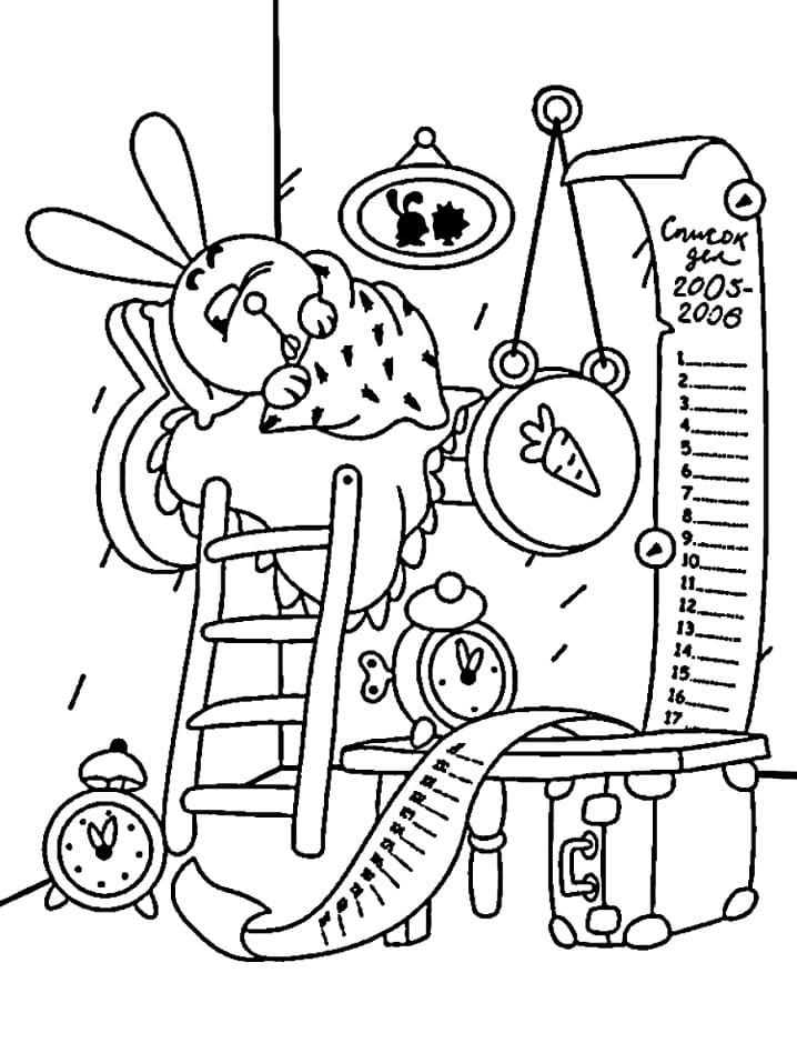 Раскраска Смеша́рики 48