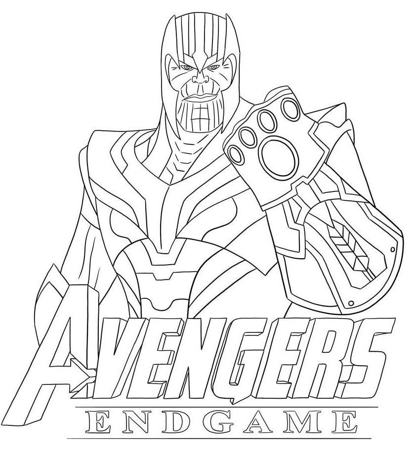 Раскраска Раскраски Marvel