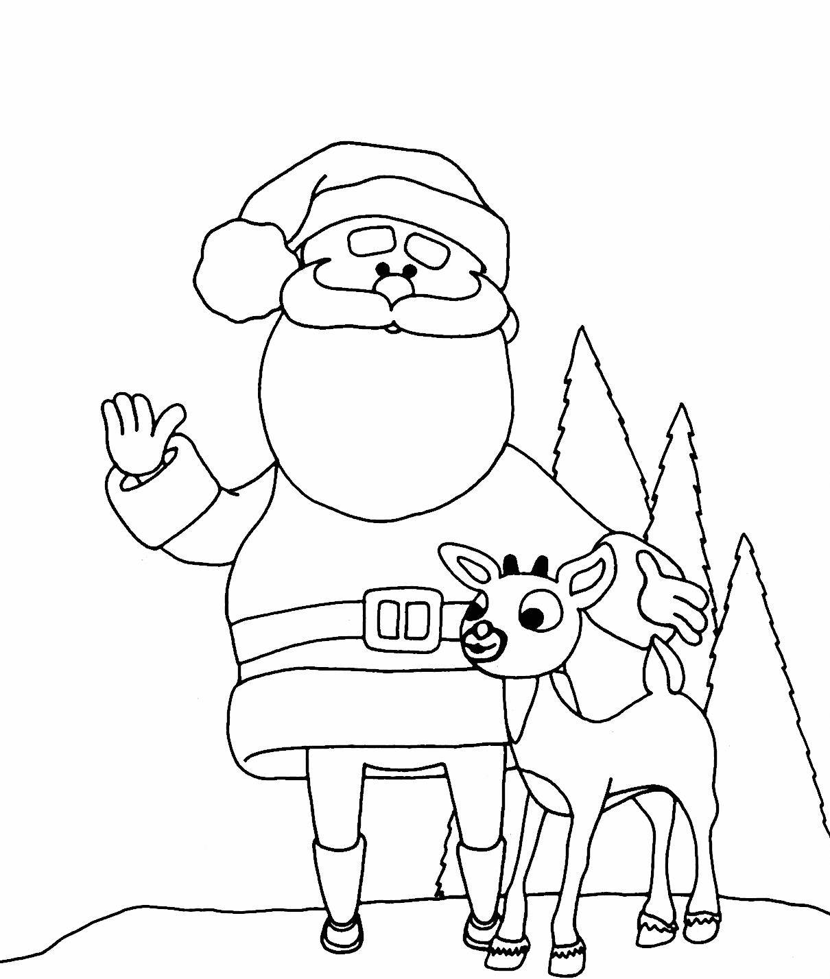 Раскраска Раскраски Рождество